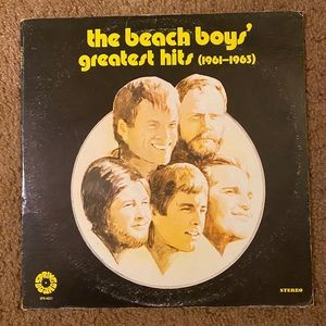 The Beach Boys Greatest Hits (1961-1963) Vinyl